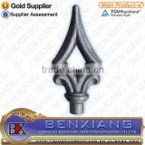 wrought iron brand BenXiang forged spear head 40.012 for decorative gate fence