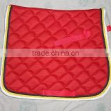 Saddle pads for horse riding