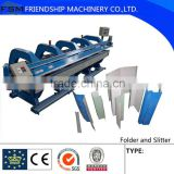 CNC operate Metal Fold ,Steel Bend and Automatic Slitter Machine,0.8-2mm thickness