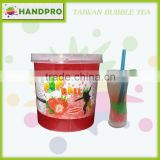 High Quality Strawberry Popball for Taiwan Bubble Tea drinks like Popping Boba
