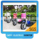 500W three wheel bike, electric three wheel scooter zappy 3 wheel scooter                                                                         Quality Choice
