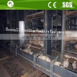 Folding automatic chicken cage/Vertical meat chicken broiler cage used poultry farm equipments