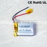 buy China factory low price Li-po rechargeable 3.7v with PCB and wire battery