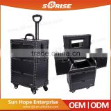 Original Factory Supplier Rolling Station with Lighted Mirror Makeup Case
