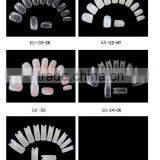 DIY false nail artificial nail provide all kinds of plain false nail