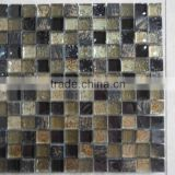 Glass,stone & Electroplated glass Mixed Mosaic