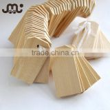 Wholesale classical blank small wooden clothing label