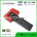 cheapest factory price IPTV POWERVU free biss HD 1080P PVR EPG FTA MINI stb satellite receiver