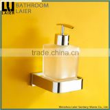 No.85138-A American Style Bathroom Brass Chrome Finishing Wall-Mounted Bathroom Sanitary Items Liquid Soap Dispenser