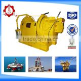 10 tons air driven tugger winch in drilling platform