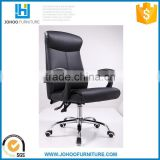 J86-B Modern Office Computer Armchair High Back Ergonomic Swivel PU Leather Office Chair with Wheels
