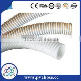 PVC Nylon Polyester Braided Spiral Galvanized Steel Wire Reinforced Water Suction Hose Pipe