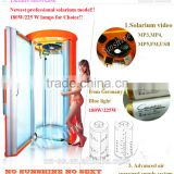 Healthy skin ultraviolet ray tanning bed shower