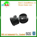 Aluminum CNC machining parts, black anodizing, used for electronic smoke components,ISO certificated