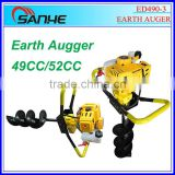 Big engine earth auger ED490