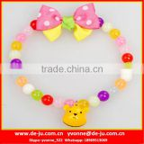 Yellow Bear Decorative Pet Handmade Collar