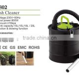 power ash cleaner home appliance electric dust collector with hepa filter
