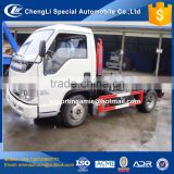chengli sale cheapest small forland diesel 95hp 2 tons capacity garbage trucks