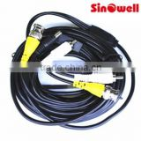 5m-100m Video Power Cable( dc+bnc+rca)