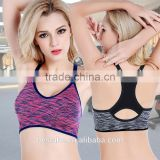 Women Cross Gym Fitness Pattern seamless Sports bra Made Yoga Bra