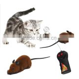 2015 Brand NewScary Remote Control Simulation Plush Mouse Mice Kids Toys Gift for Cat Dog Hot Selling Features:
