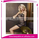 2015 Fashion Sexy Lace Fishnet Rose Lingerie Hollow Out Body Stockings
