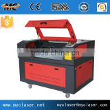 MC9060 Newly design cheap coconut shell laser cutting and glass engraving machine with factory price