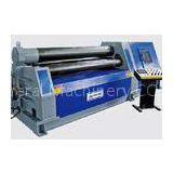 High Precision 4 Roller Bending Machine , Rolling Sheet Metal Become Arc Shape