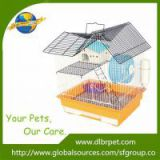 Steel material opening house top pet cage for hamster, Customized design is welcome,factory supply