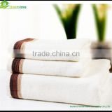 Eco-friendly Soft Bamboo Towel Set Factory Price Gift Bamboo Fiber Towel Set With Customized logo bamboo towel set