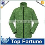 OEM professional polar fleece jacket ,melange yarn polar fleece jacket windstopper,polar fleece jacket factory .