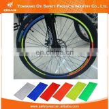 Promotional Custom reflective sticker for wheel bike