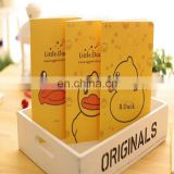 Professional coloring printing A4/A5/A6 softcover B. duck notebook with line