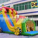 Car inflatable bouncer for kids