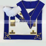 Masonic-Craft-Provincial-Undress-Apron-Imitation-And-Collar-Gloves
