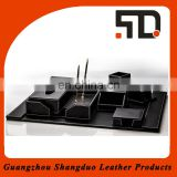 Experienced Manufacture Bestselling Office Stationery Leather Set