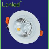 Aluminum Case 2.5 inch 5W Recessed LED COB Downlight  White---Lonled