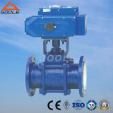 3PCS Electric Actuated Ceramic Floating Ball Valve (GQ941TC)