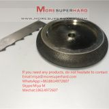 Electroplated CBN Grinding Wheels For Band Saw Blades miya@moresuperhard.com