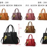 Fashion PU leather handbag shoulder bag lady bag women bag 4 seasons designer brand