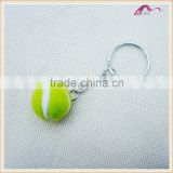 Personalized Fluffy Felt Tennis Ball Keychain                                                                         Quality Choice