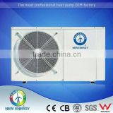 Renewable energy low temperature evi for bath heat pump water heater with inverter heat pump unit