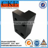 Black Delrin CNC Milling Parts in Mechanical Parts