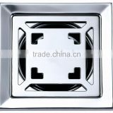 High quality Stainless steel floor drain,square shape 100*100mm,mirror polished drainer,B2132-1