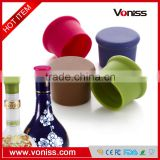 silicone wine bottle stopper reusable glass bottle plug rubber wine bottle cap keep wine fresh