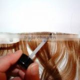 Wholesale Top Quality 20inch 100 % Brazilian Virgin hair tape hair extensions,skin pu weft