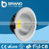 Classical design Direct selling cob led downlight dimmable led downlight led recessed mounted downlight 25w