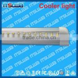 v shape 120cm LED fluorescent replacement, T8 type 26mm, Meat Light, walking cooler light