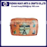 INQUIRY ABOUT Wholesale canvas pu cosmetic bag promotional cosmetic bag
