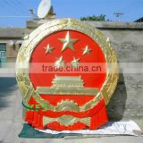 Bronze large national emblem sculpture